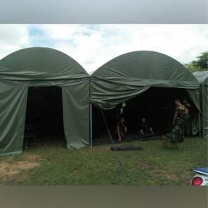 เต้นท์สนามทหาร